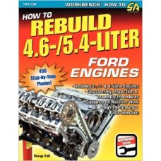 Книга мануал How to Rebuild 4.6-/5.4-Liter Ford Engines Paperback – April 2, 2009