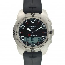 Часы Tissot Men's T0134204720100 T-Touch Expert Titanium Ana-Digi Watch